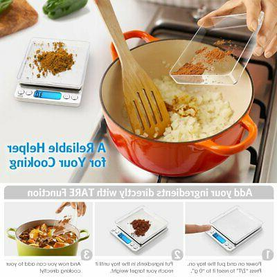 AMIR Digital Scale, 3000g 0.01oz/ Cooking Food