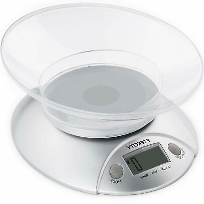 Etekcity Digital Kitchen Food Scale,Weight Scale with Remova