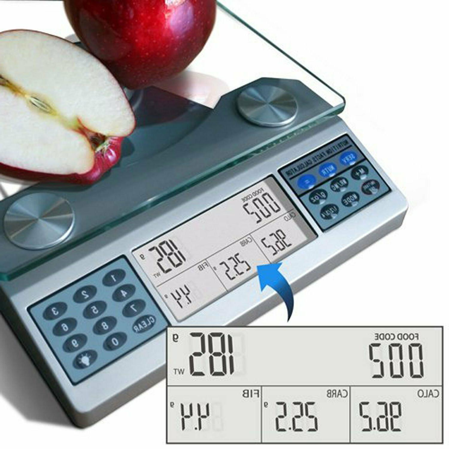 EatSmart Digital Scale - Food Nutrient Calculator