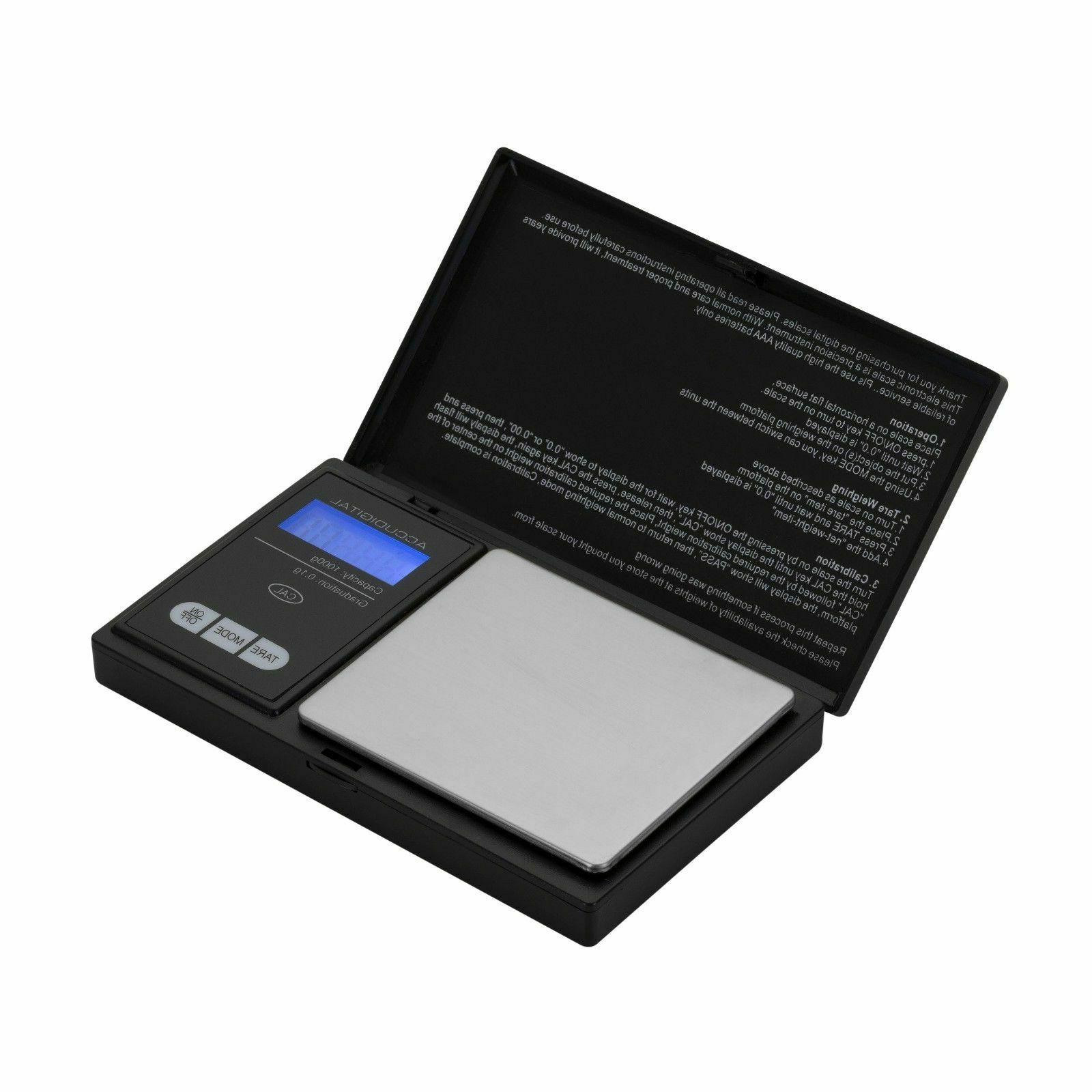 Digital Scale 1000g 0.1g Jewelry Gold Herb Grain