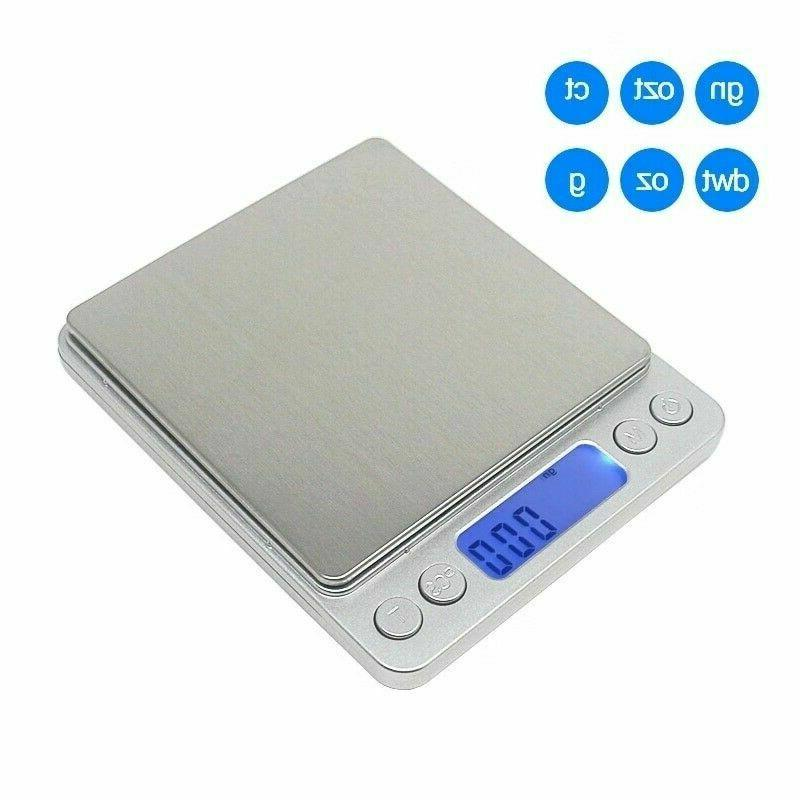 Digital Jewelry Scale 3000g x 0.1g Gold Silver Coin Gram Poc