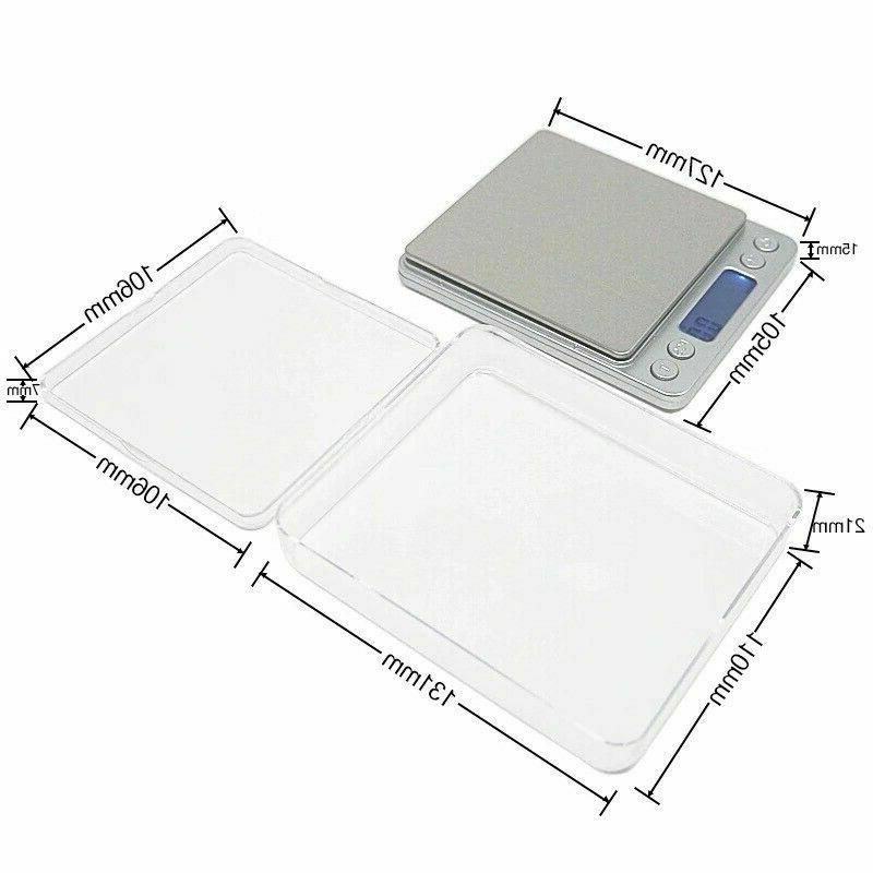 Digital Scale x 0.1g Jewelry Gold Silver Coin Gram Herb