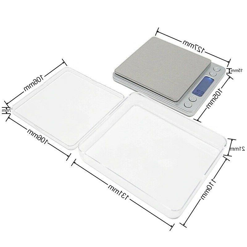 Digital Scale 0.1g Silver Coin Herb