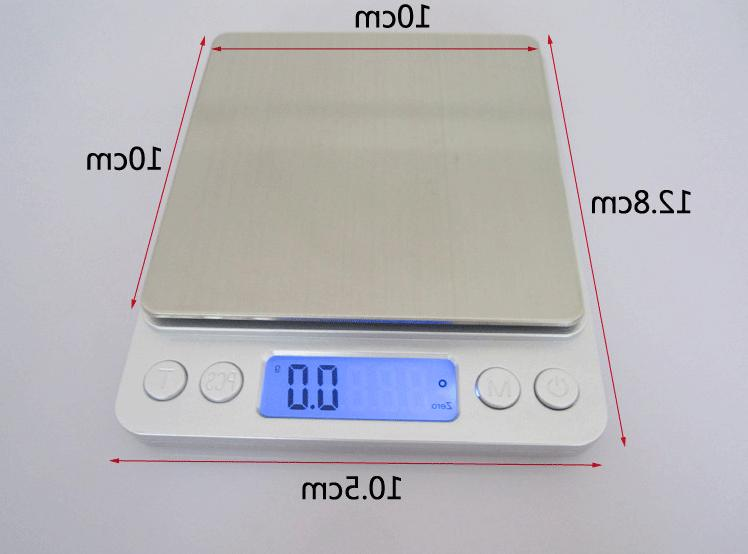Digital Scale 0.1g Jewelry Gold Coin Herb