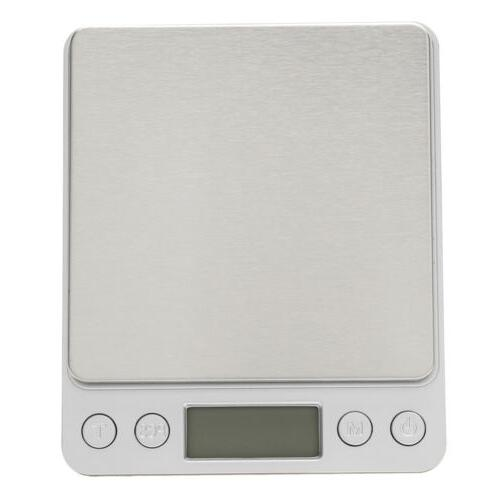 Digital Scale 3000g 0.1g LCD Jewelry Silver Coin + Battery
