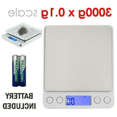 digital scale 3000g x 0 1g lcd