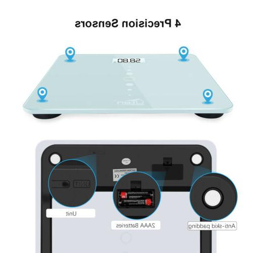 Electronic LCD Digital Body Weight Tempered Glass