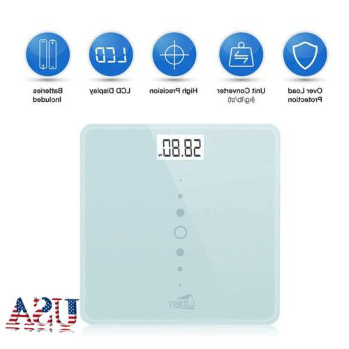 electronic lcd digital body weight bathroom scale