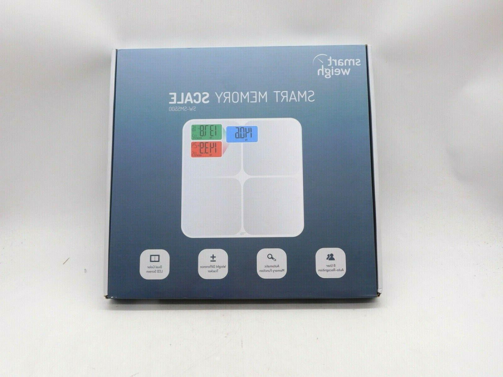 Smart Weigh 440lbs Family Bathroom Digital Body Weight Scale