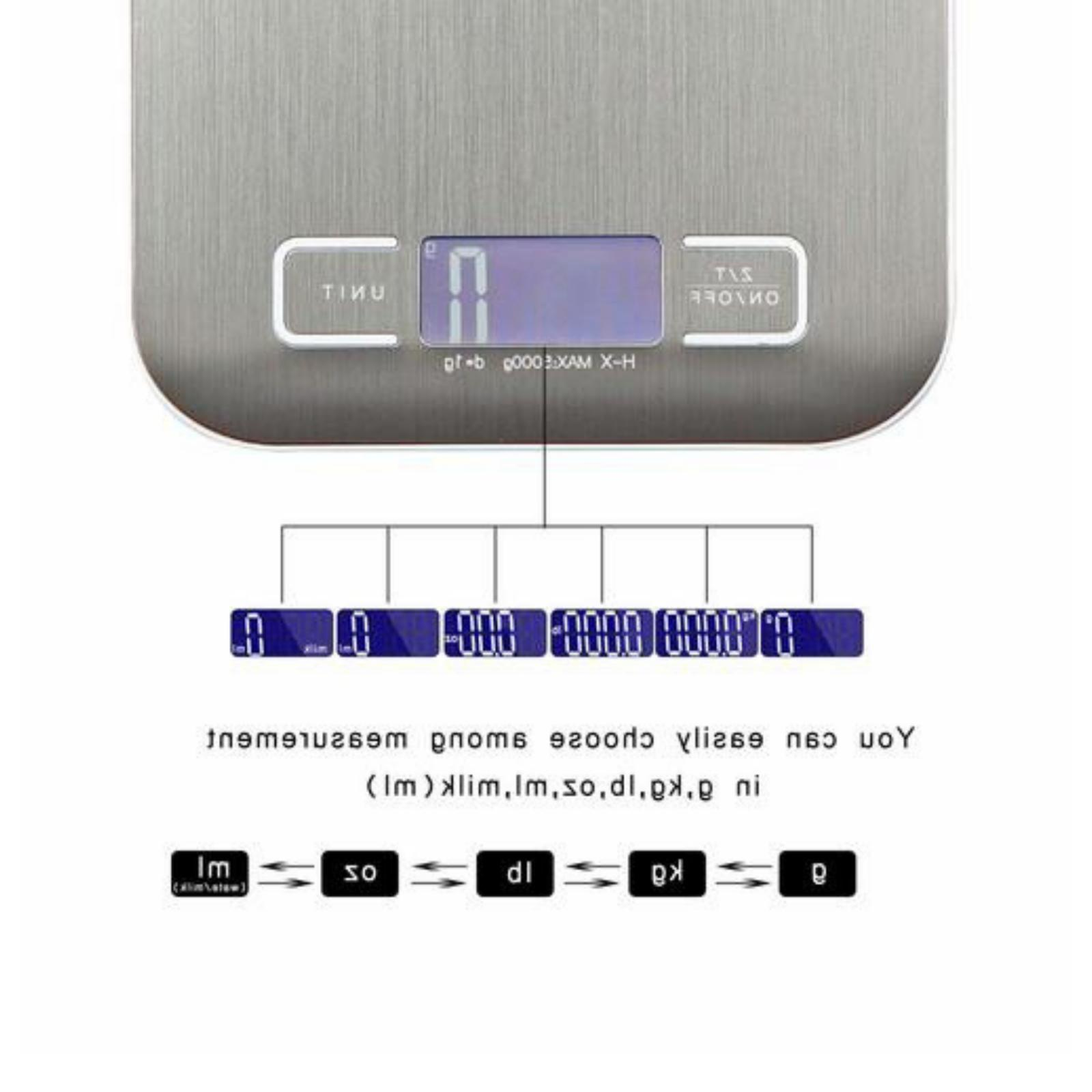 Food Weight Scale Grams & Ounces, Small, Steel