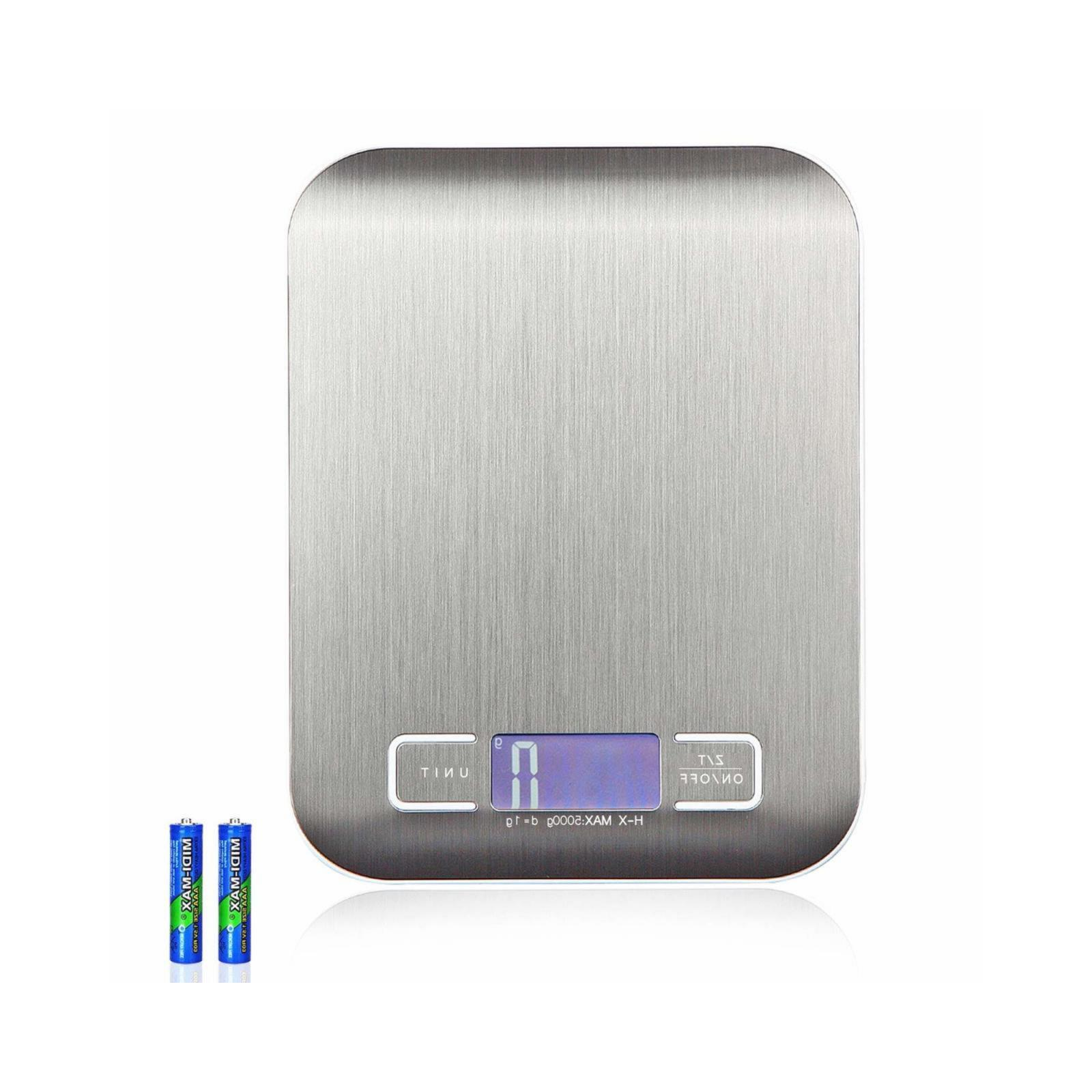 Food Scale Grams & Small, Stainless