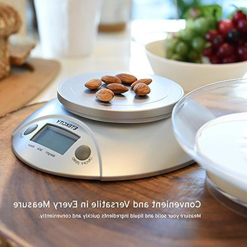 Etekcity Digital Scale Scale with Removable 11