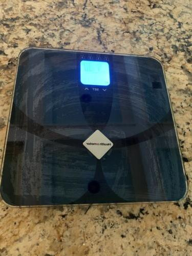 glass weight tracking scale