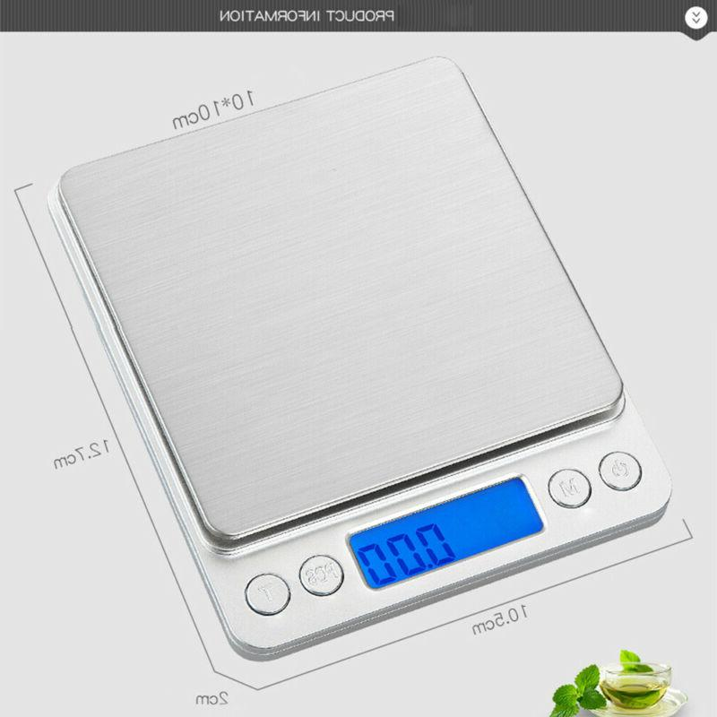 Gram LCD Display Weighing Digital Scales Weight Balance Electronic
