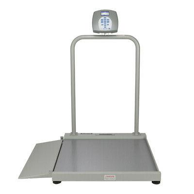 The Amazing HealthOMeter 2500CKL Wheelchair Ramp Scale with