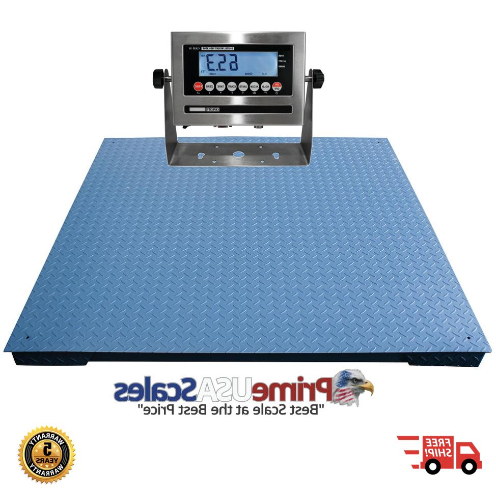 heavy duty floor scale 7 x 7