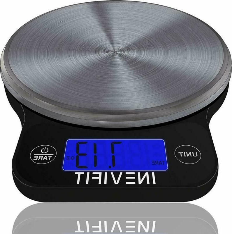 DIGITAL KITCHEN SCALE Highly Accurate Multifunction Food Scale INEVIFIT
