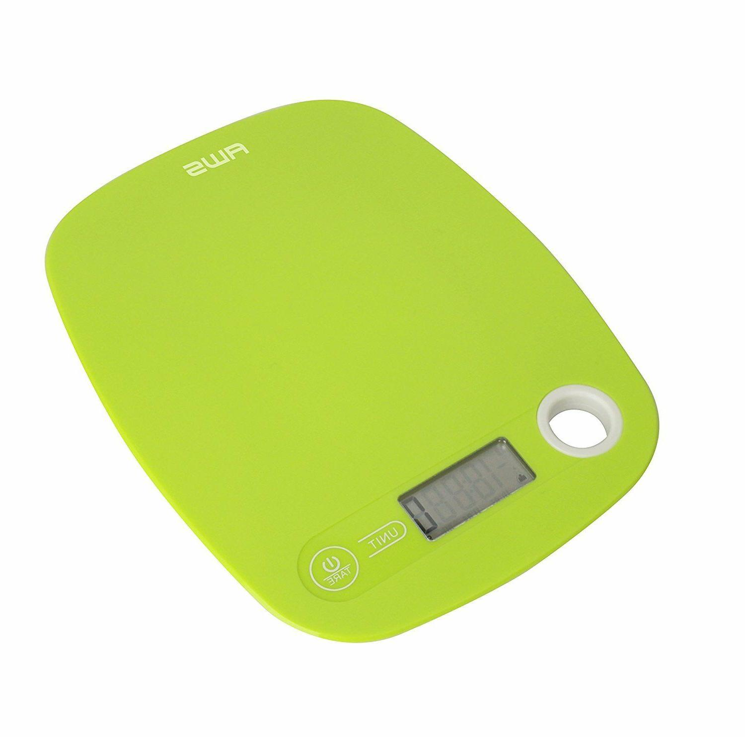 Kitchen Scale Low Profile Lime