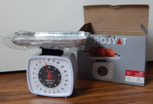 kitchen scale analog display to 22 lb