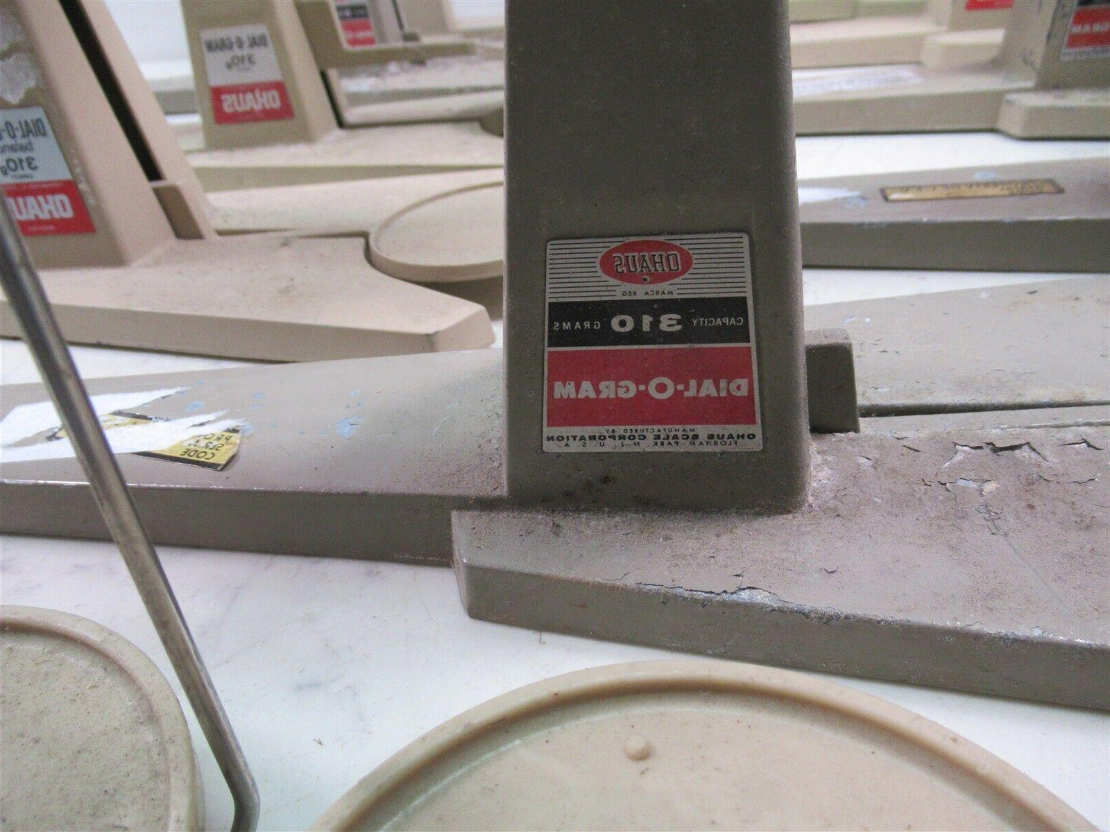 Lot of 9 Dial-O-Gram Laboratory Scales Lab