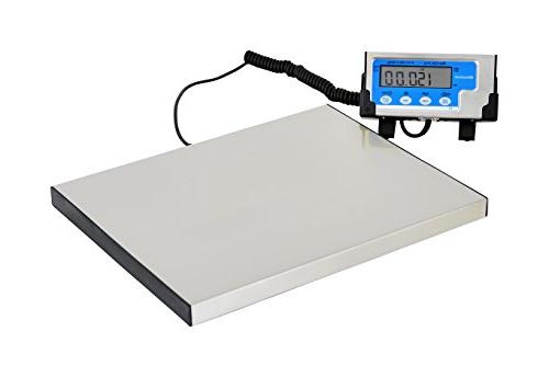 Brecknell  LPS400 Portable Bench Scale 400 lb x 0.2 lb,Stain