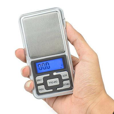 Digital Scale 200g x 0.1g Jewelry Gold Silver Coin Grain Gra
