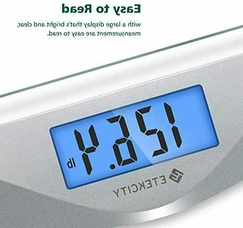 New Digital Body Scale with 8mm Tempered Pounds