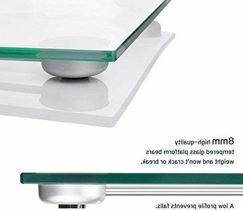 New Digital Scale with Tape 8mm Tempered Pounds