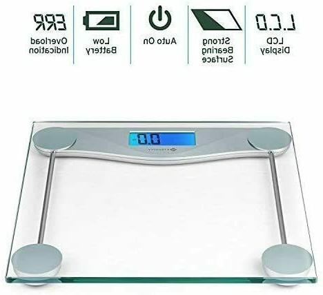 new digital body weight scale with tape