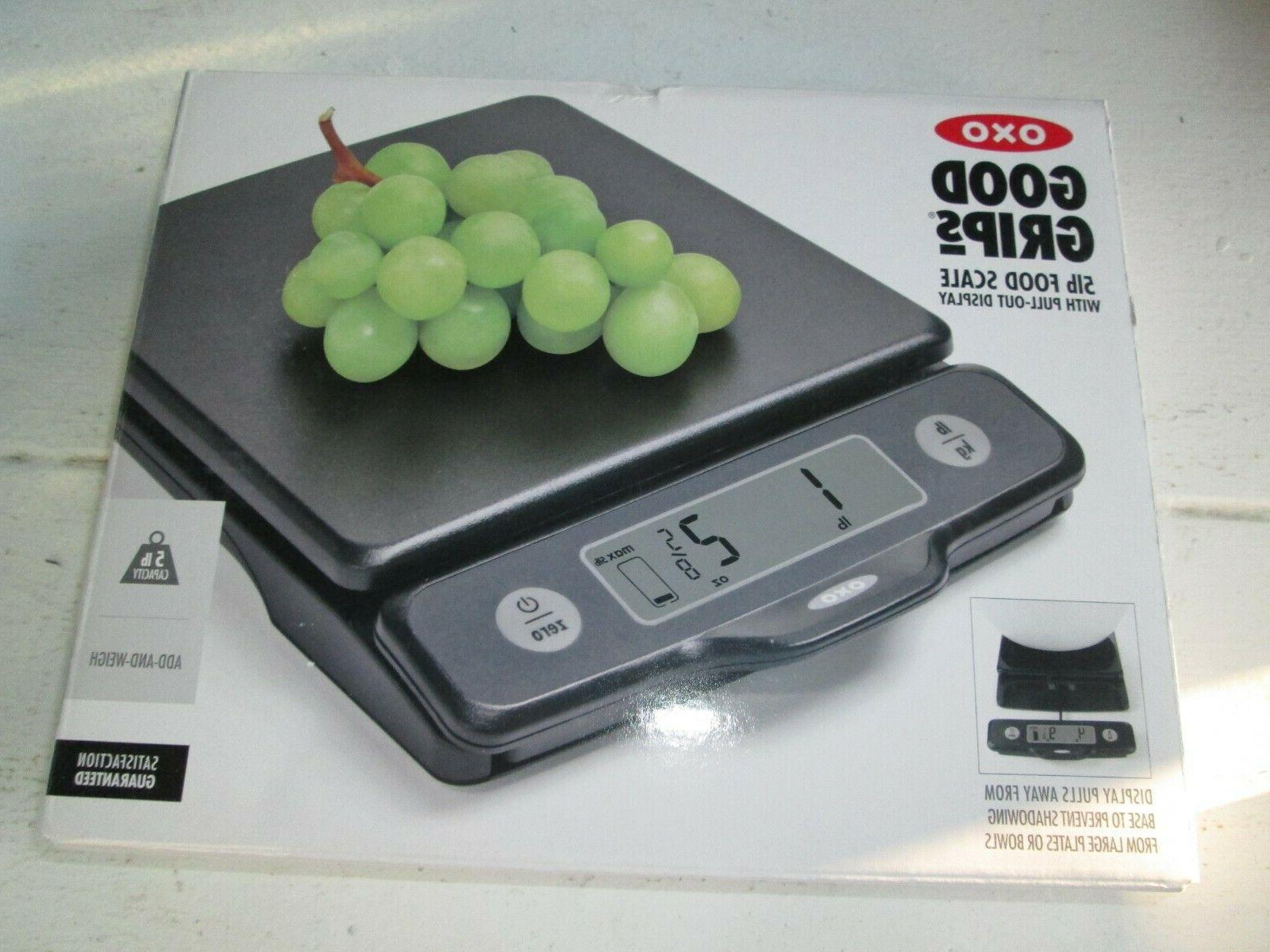 new good grips 5lb food weight scale