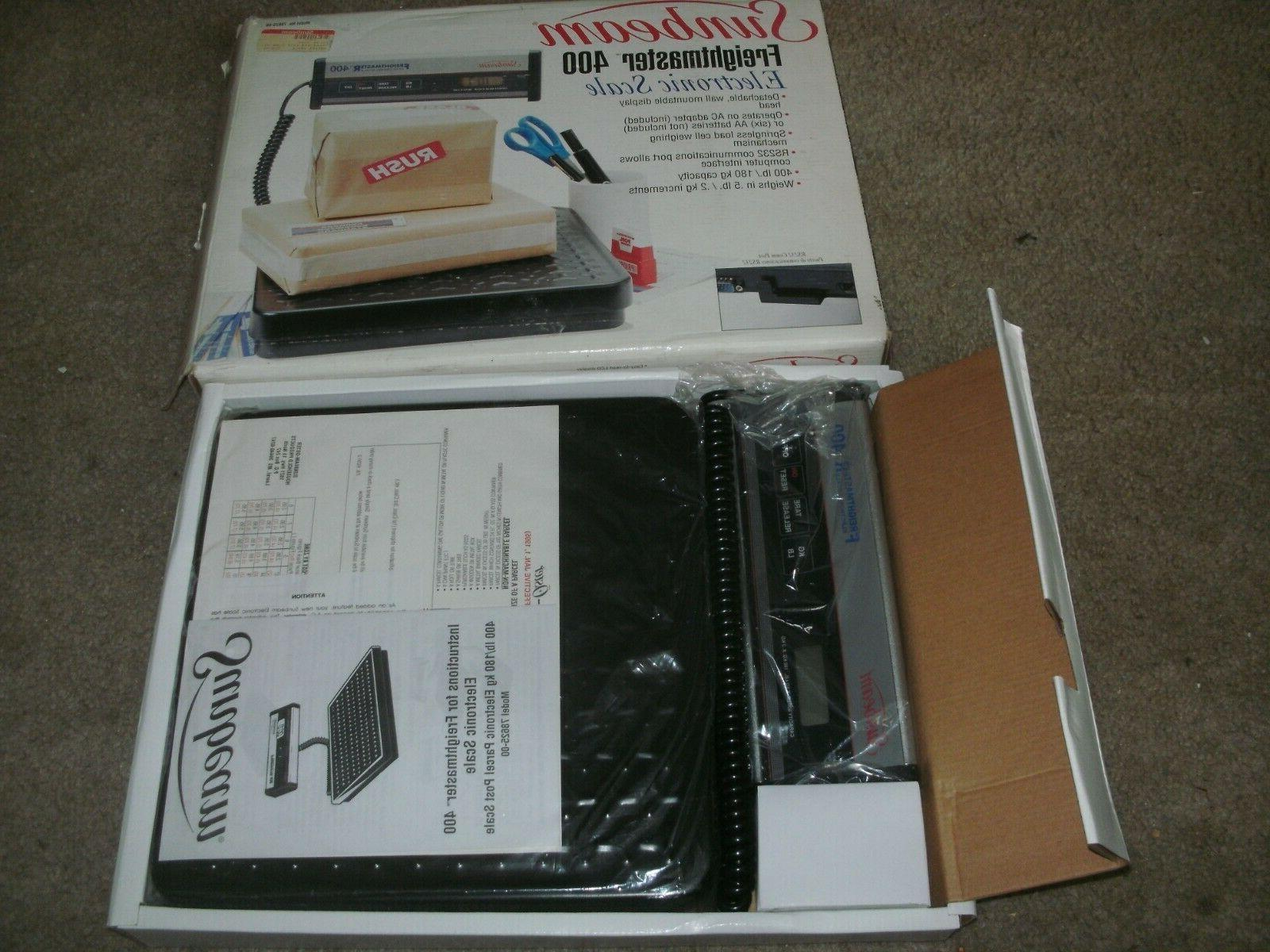 nib freightmaster 400 electronic scale 400 lb