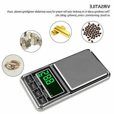 Digital Pocket 1000g Jewelry Herb Gold