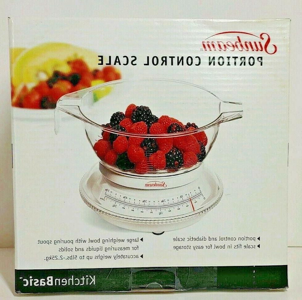 portion control scale kitchen basic food scale
