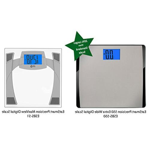EatSmart Precision Extra-High Digital Scale with