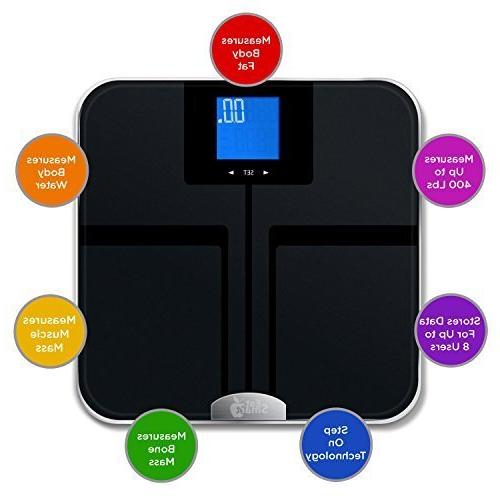 EatSmart Products Precision Getfit Digital Body with
