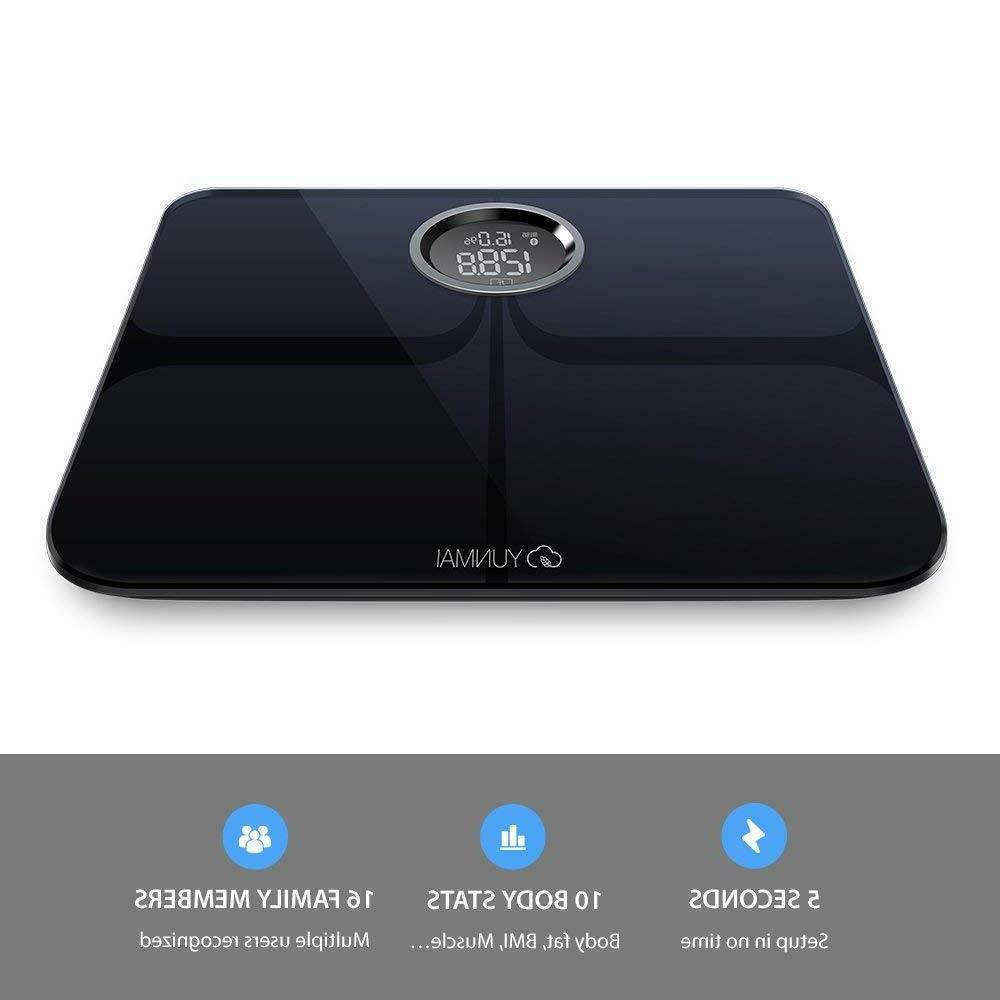 Yunmai Smart Scale Body Scale new FREE APP Body Composition
