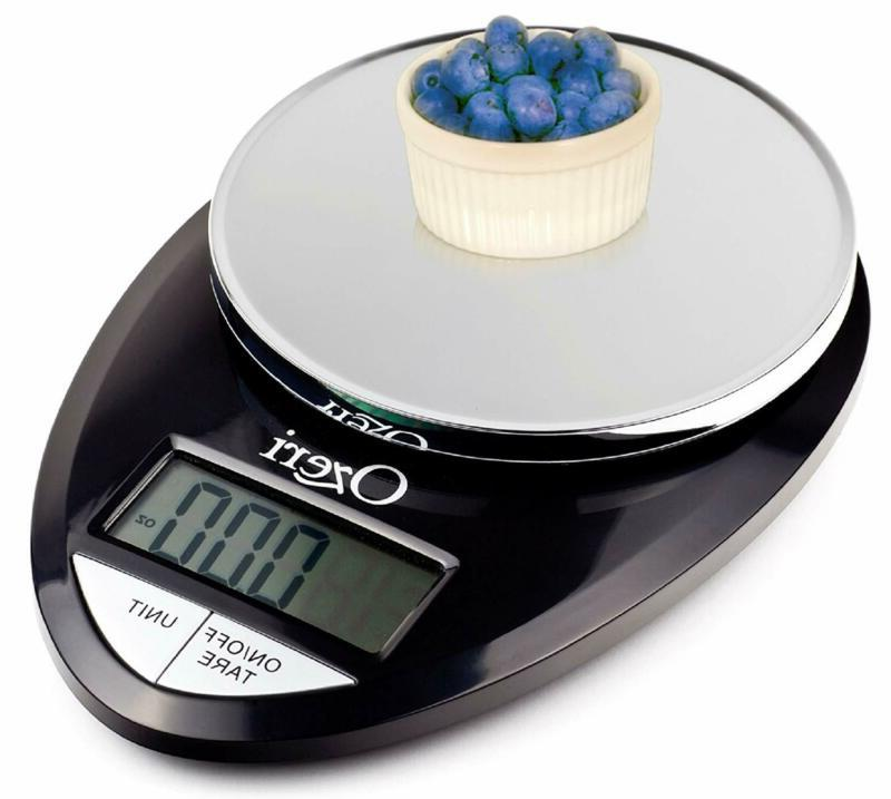Pro Digital Kitchen Food Scale, 1g to lbs Capacity