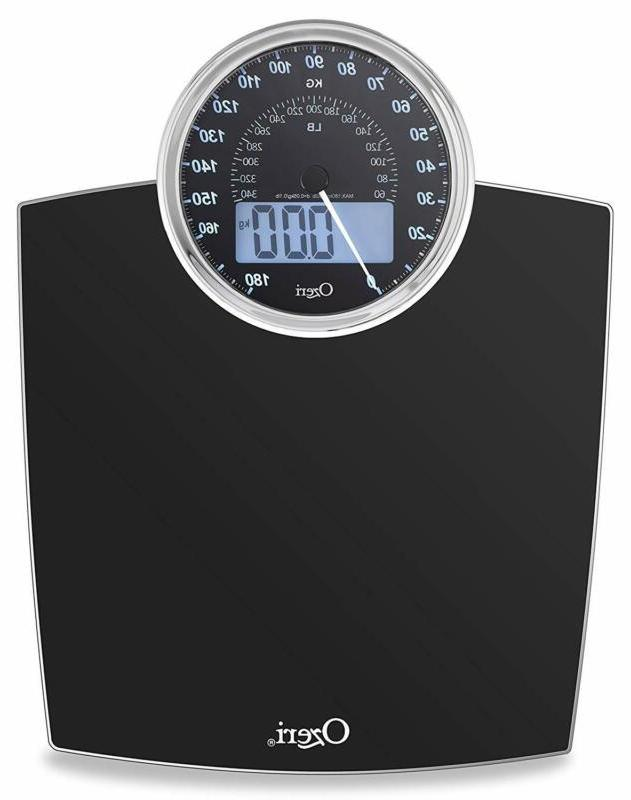 Ozeri Rev 400 Lbs  Bathroom Scale With Electro-Mechanical We