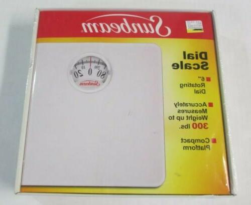 Sunbeam SAB998D01 Analog Scale White Mat