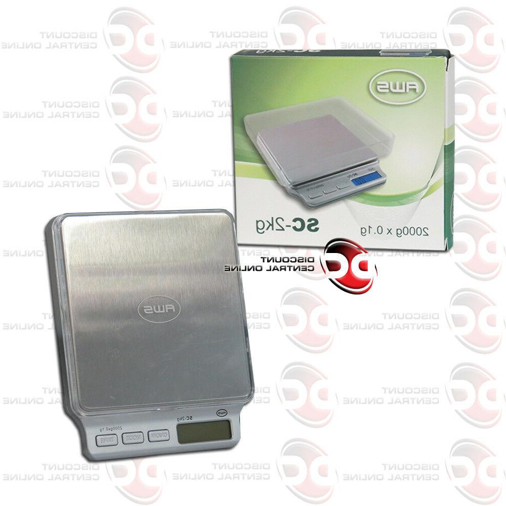 sc 2kg digital pocket scale 2000 gram