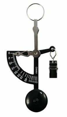 American Weigh Scales AMWHAND-BLK Black Hand Letter Scale, 1