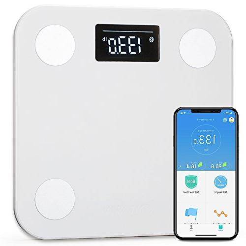 Yunmai Body Fat Digital Weighing Weight APP Body Composition Monitor Analyzer Display, Work 8/iPhone X
