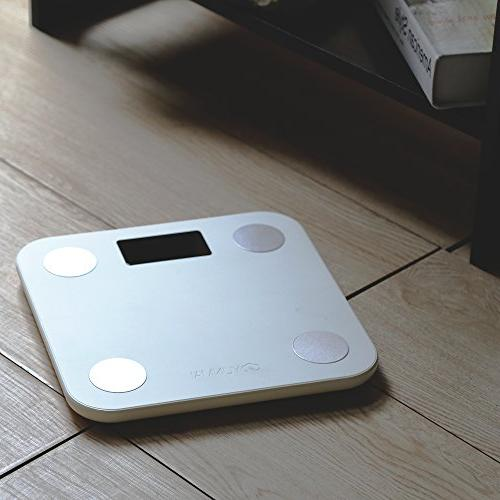 Yunmai Smart Bluetooth Body Fat Weight Scale with Free APP Body Monitor Analyzer with Display, Work iPhone