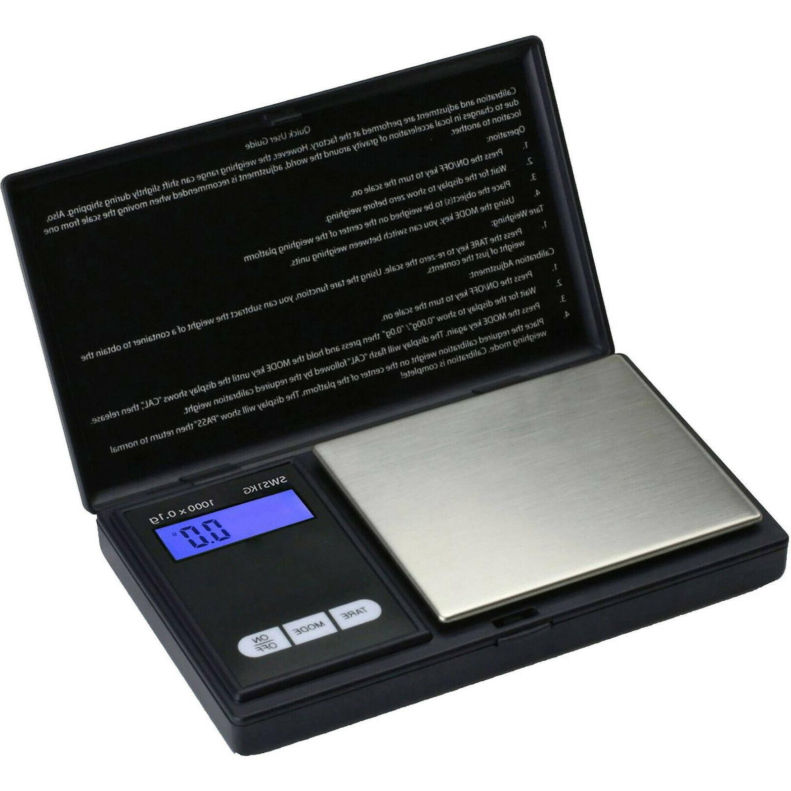 smart weigh scales sws 1000 digital pocket
