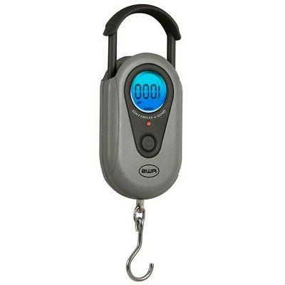 American Weigh Scale Sr-1kg Gray Digital Hanging Scale Gray
