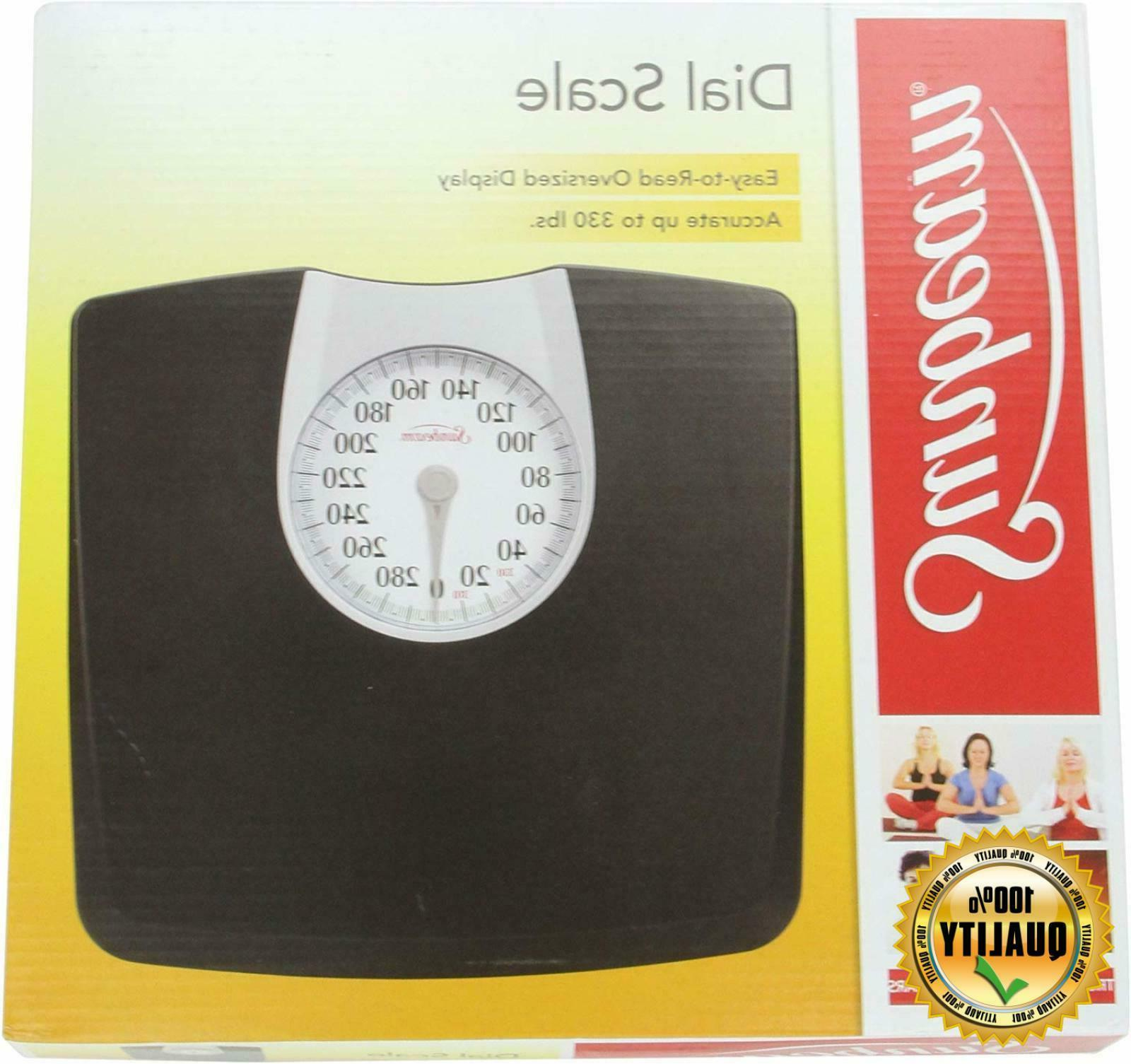 "Sunbeam SAB602-05 Full View Dial Scale Easy-to-read 4.4"" Dia"