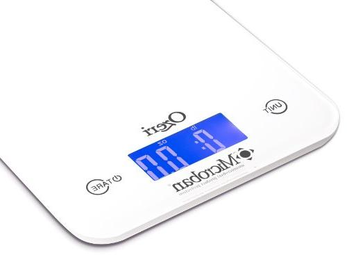 Ozeri Touch II Kitchen Scale with lbs Capacity