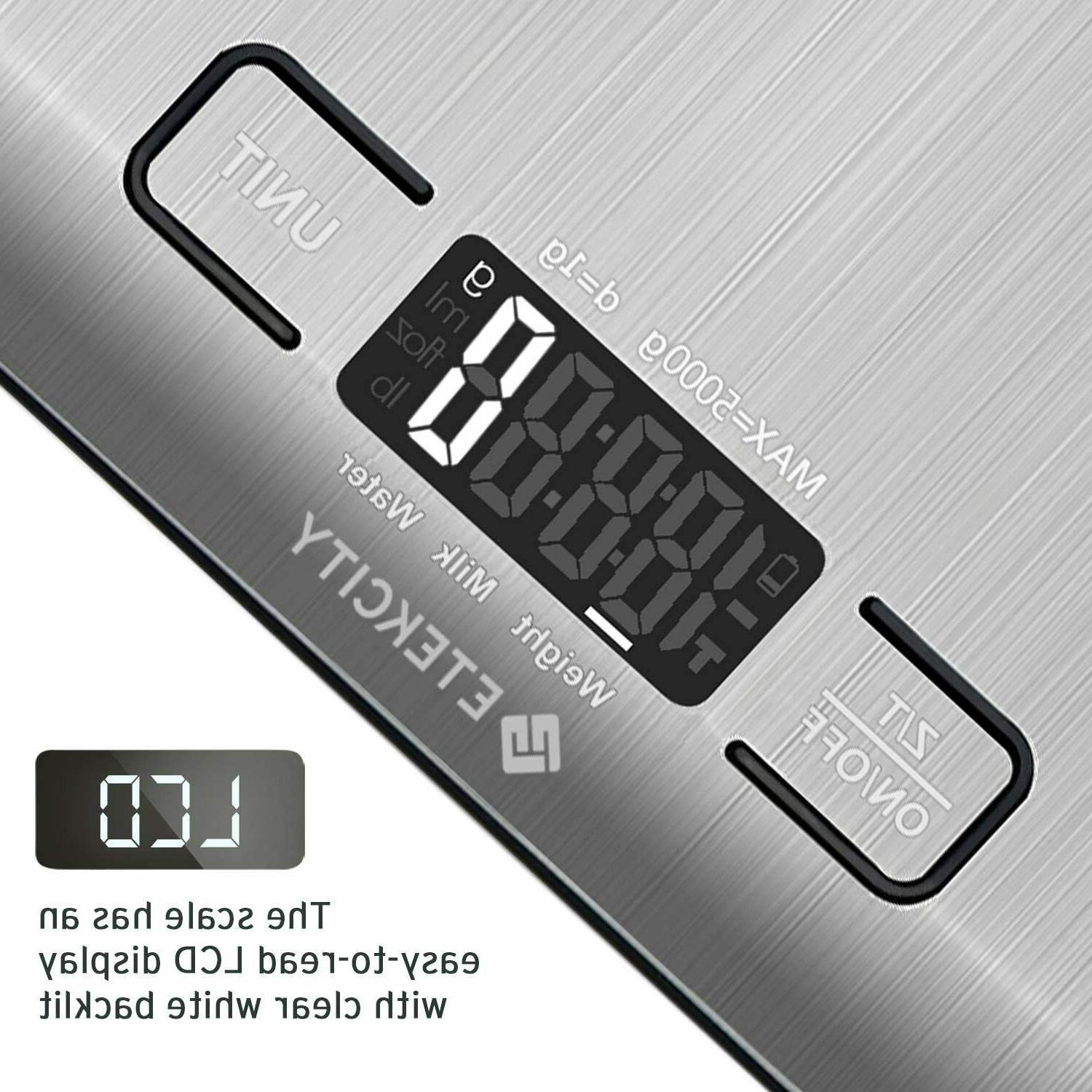 Kitchen Scale Electronic Food Weighing Gram