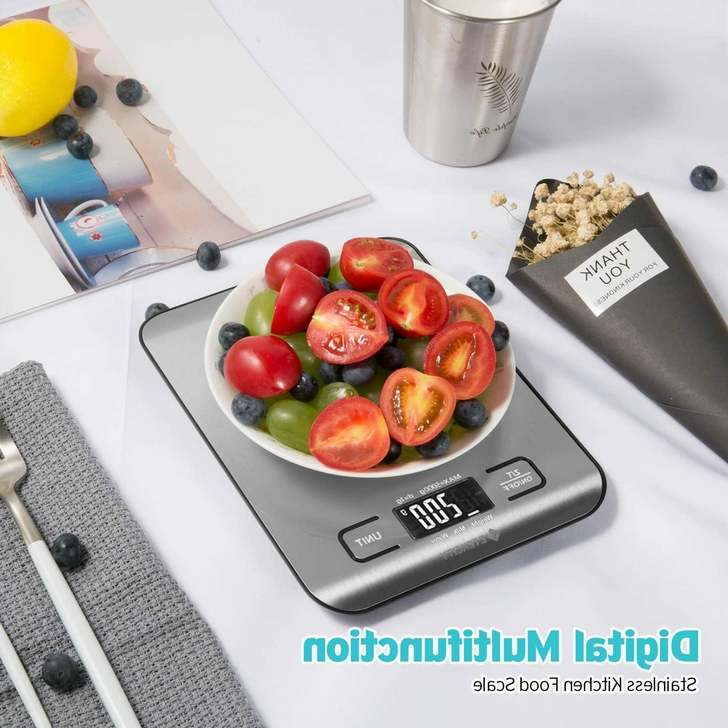 Kitchen Electronic Weighing Scale Gram Accurate