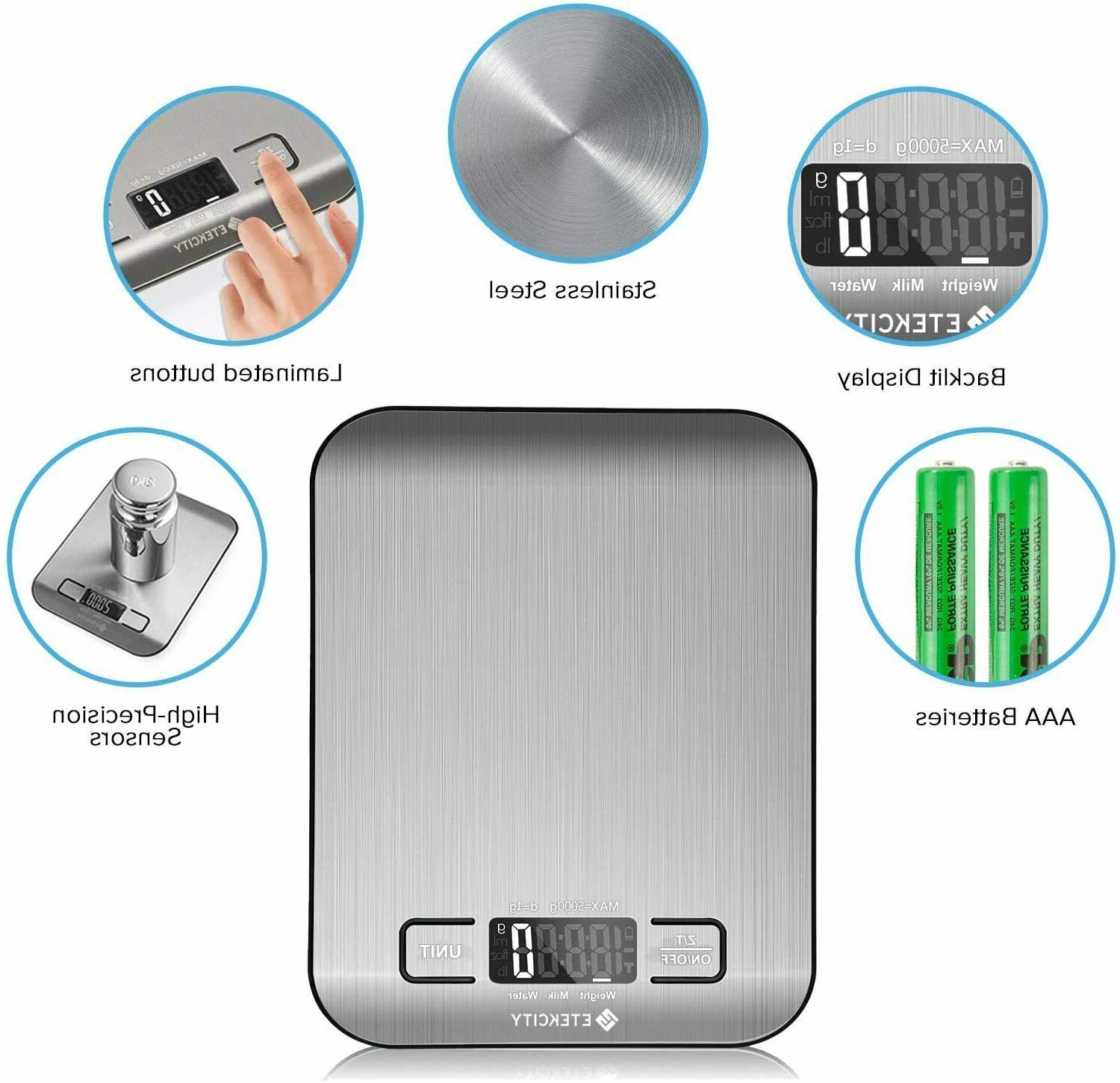 Kitchen Scale Electronic Weighing Scale Gram